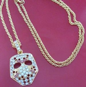 Other - Friday the 13th necklace gold plated